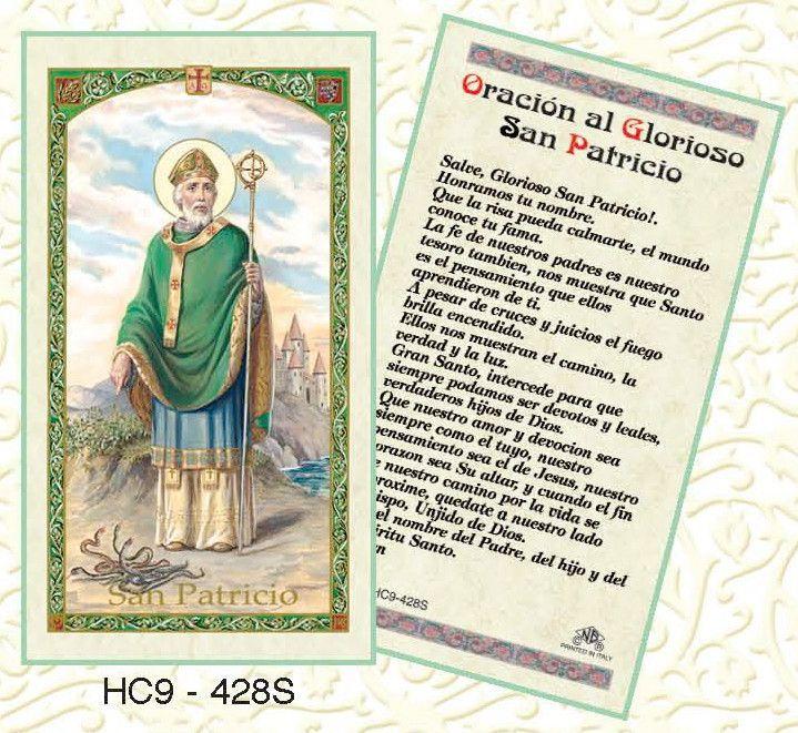 Oracion al Glorioso San Patricio