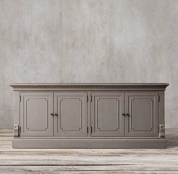 St James Glass Sideboard
