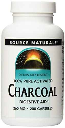 Source Naturals 100 Pure Activated Charcoal Digestive Aid 200 Capsules Want To Know More Clic Digestion Aid Activated Charcoal Natural Dietary Supplements