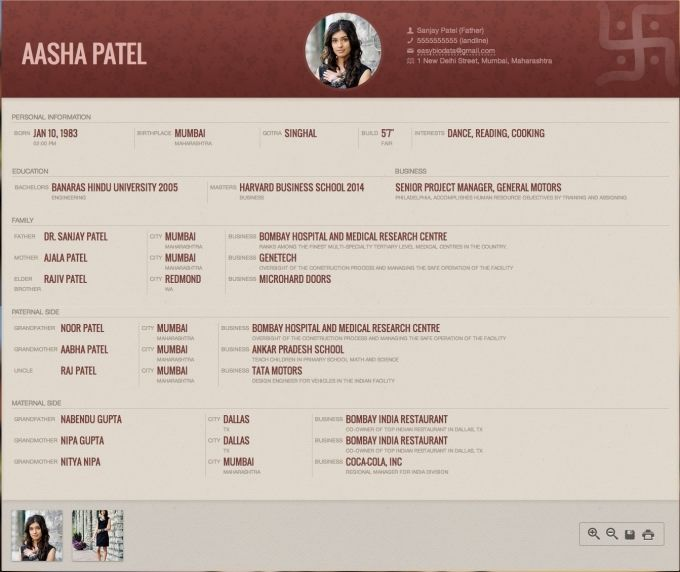 1000 Images About Biodata For Marriage Samples On Pinterest resume