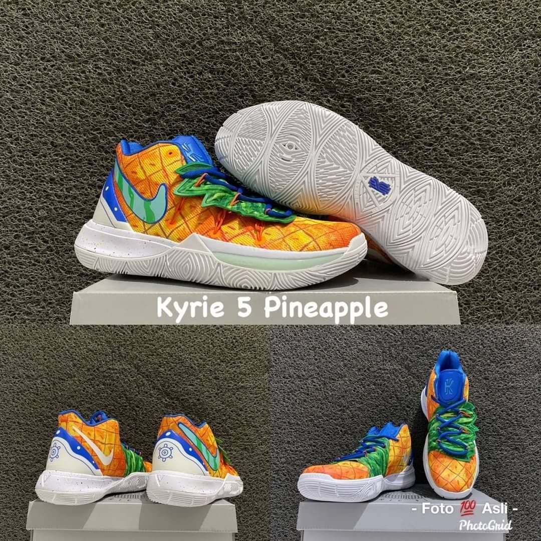 Get Your Free Nba Jersey Gift Kyrie 5 Spongebob Pack Kyrie 5