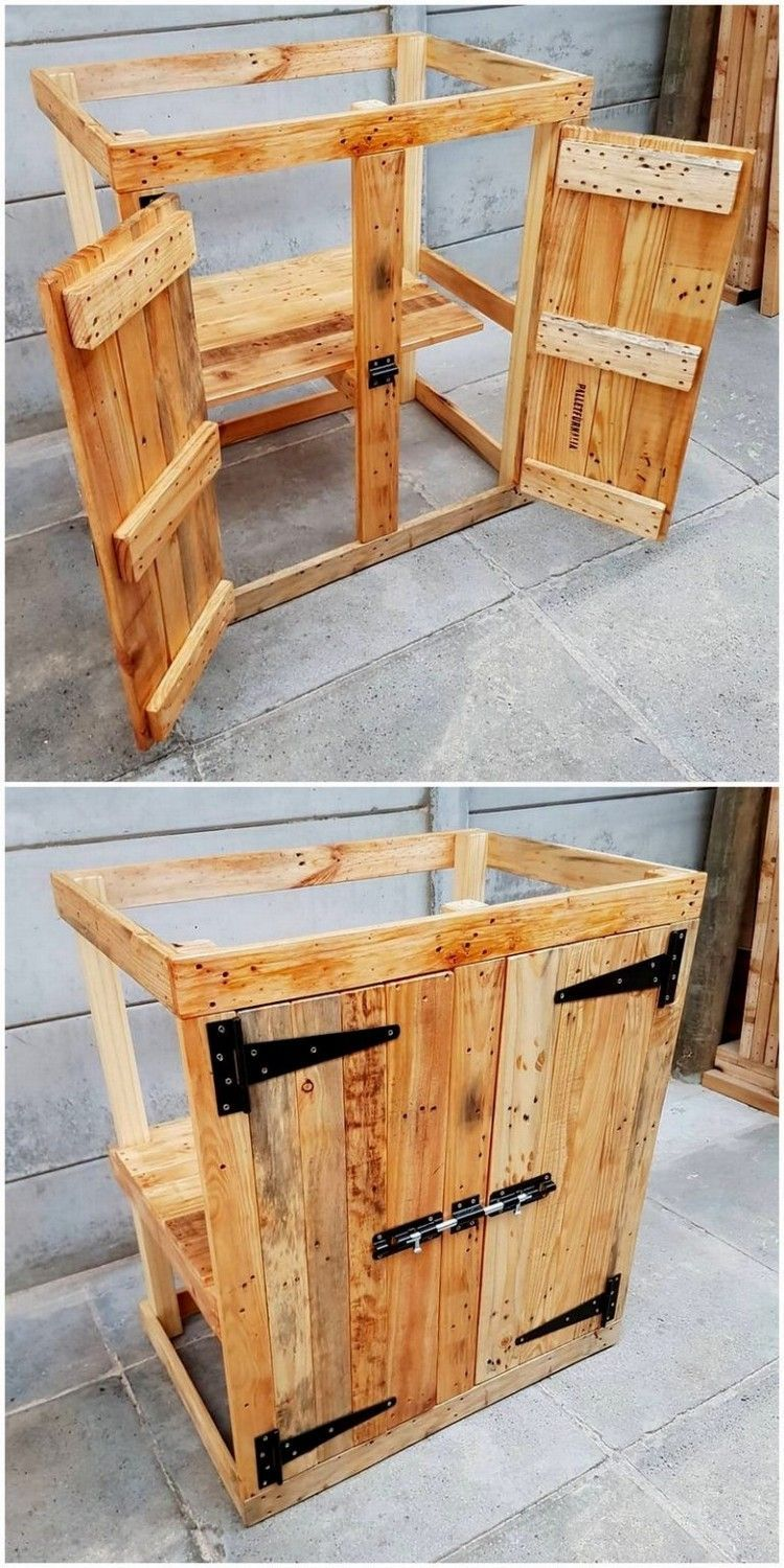 Pin By John Martin On Muebles De Pales In 2020 Wood Pallet Furniture Pallet Kitchen Cabinets Diy Pallet Sofa