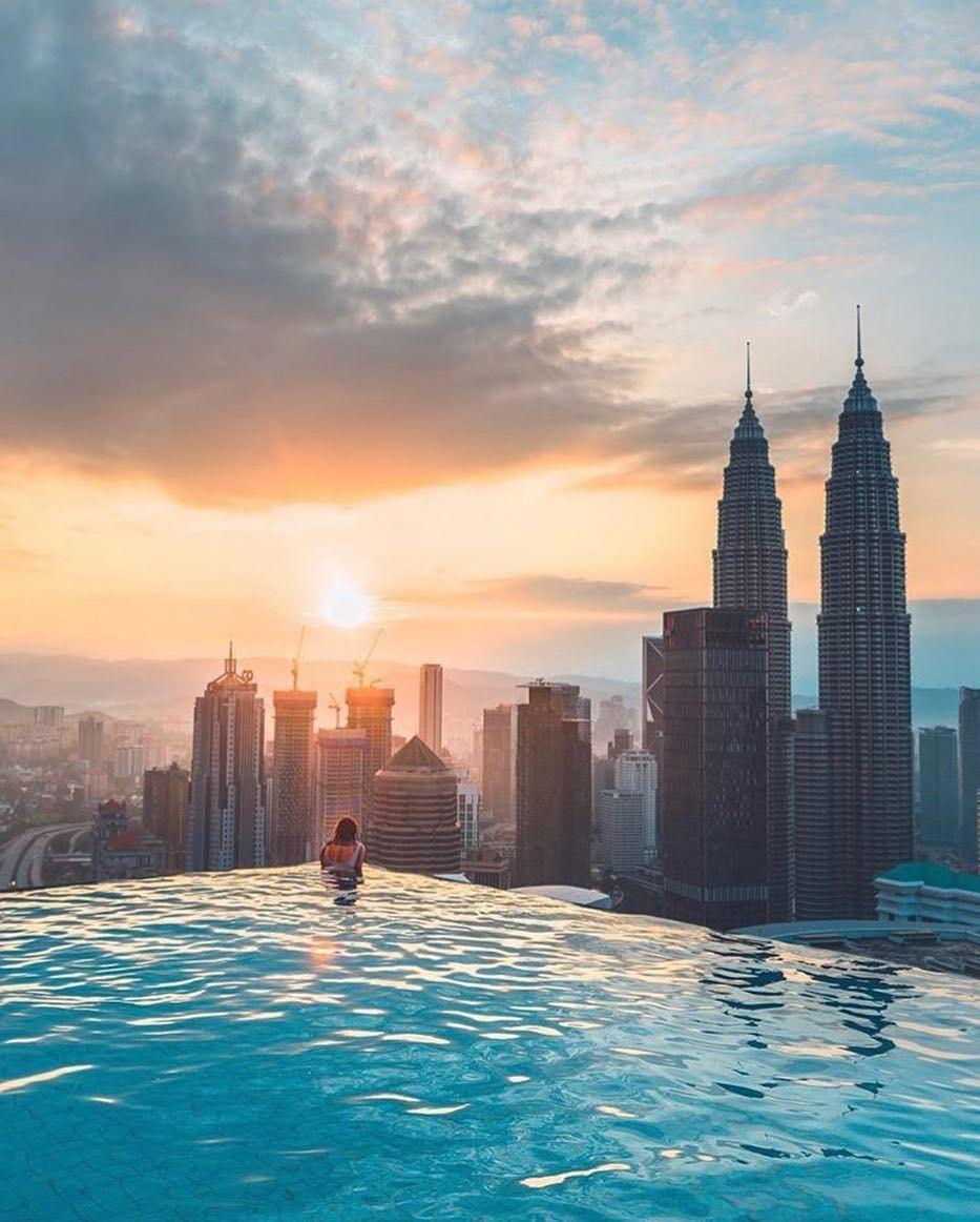 Best Rooftop Bars On Instagram That Sunrise Over Kuala Lumpur