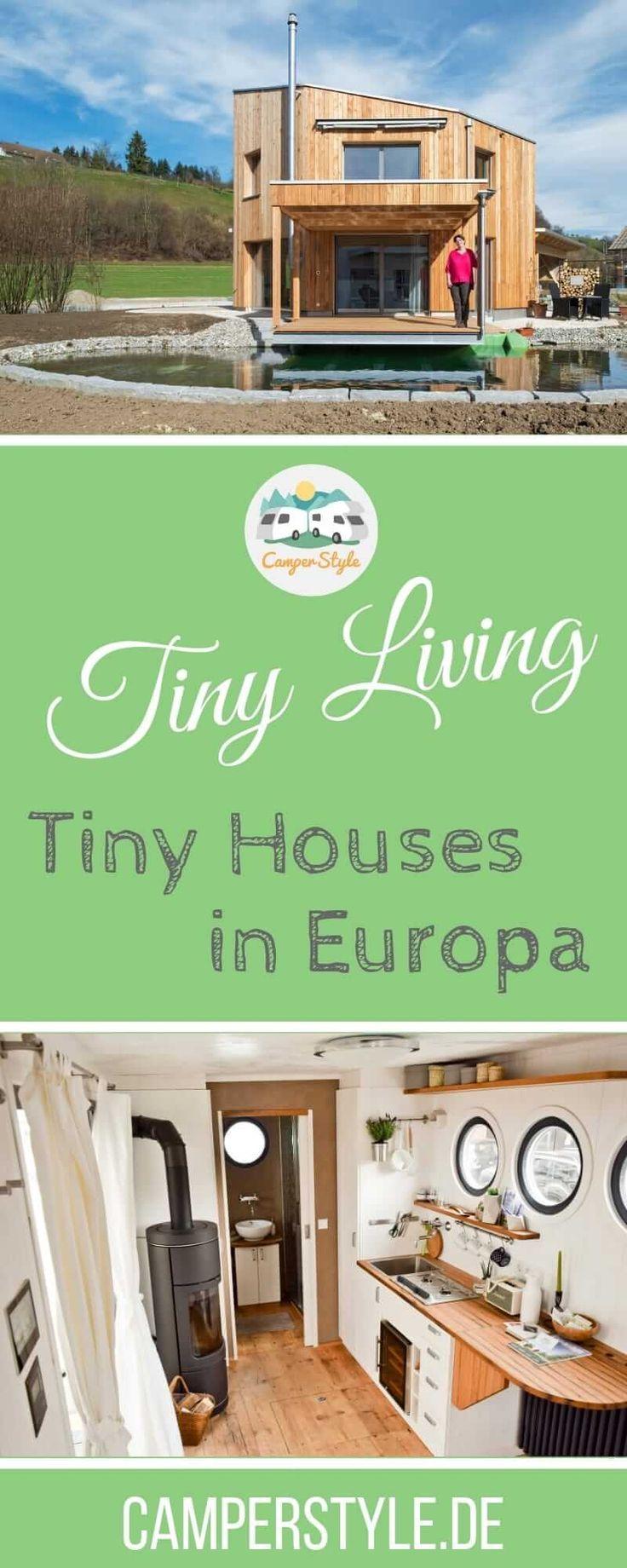 Tiny Houses in Deutschland, Österreich und der Schweiz - Anbieter, Modelle, Probewohnen
