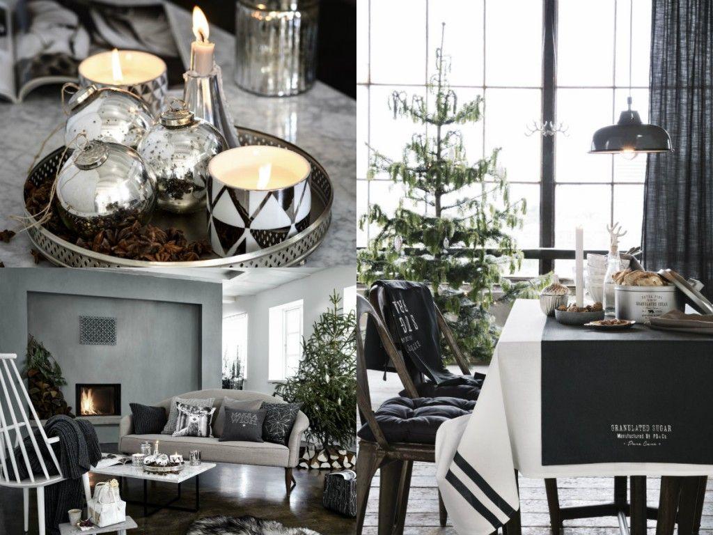 Witte Kerst Huis : Kerst in zwart wit laat je inspireren