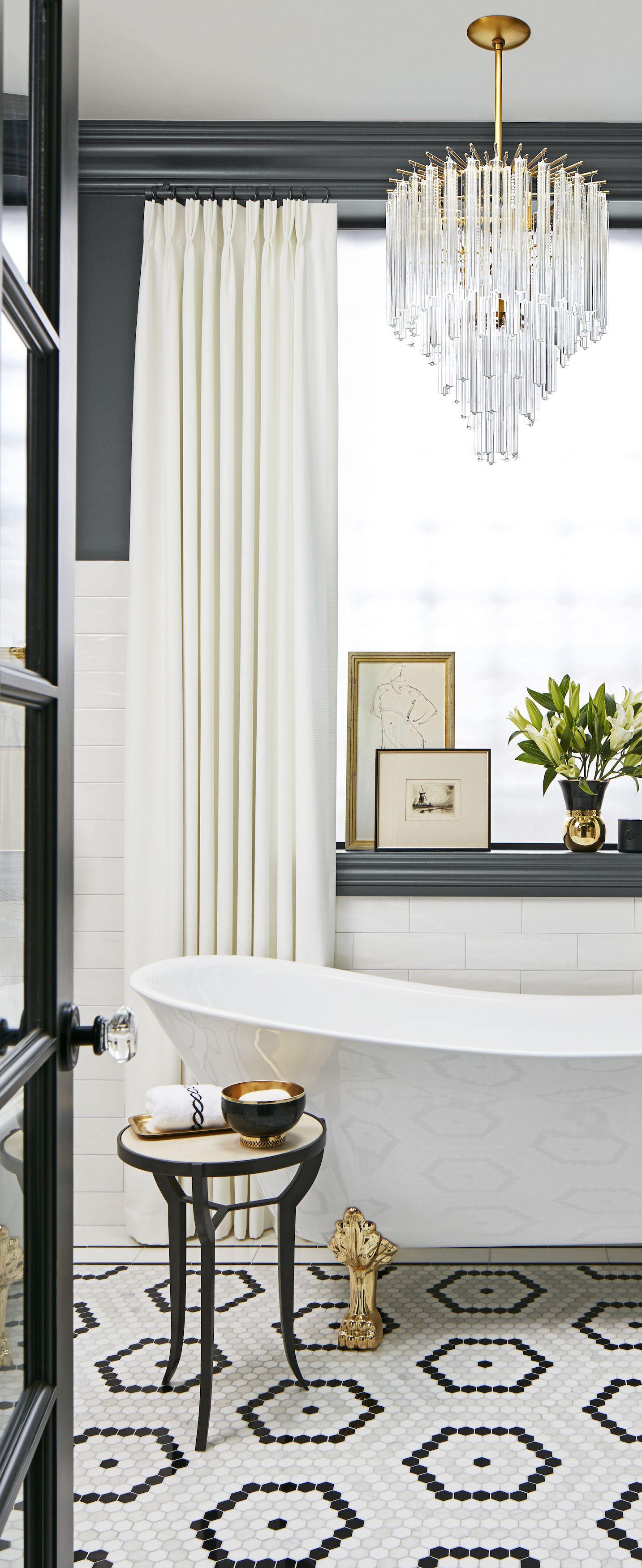 Bathroom Ideas | MODERN GLAM | Pinterest | Glamorous bathroom ...