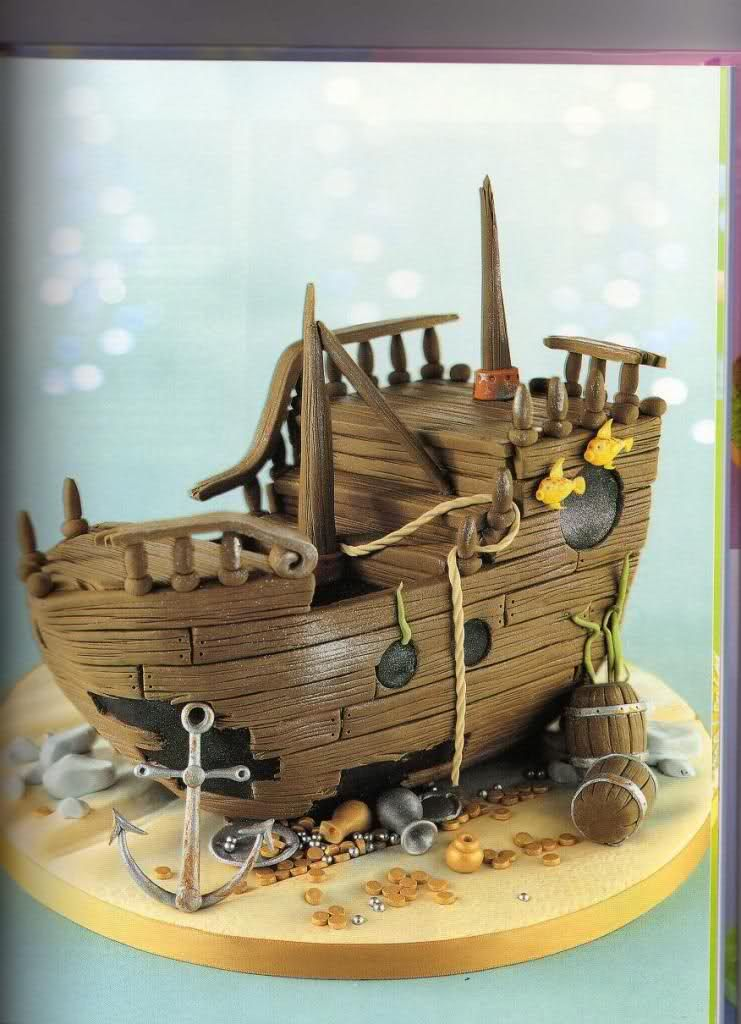 Paso a paso barco pirata | Cakes | Pinterest | Barco pirata, Piratas ...
