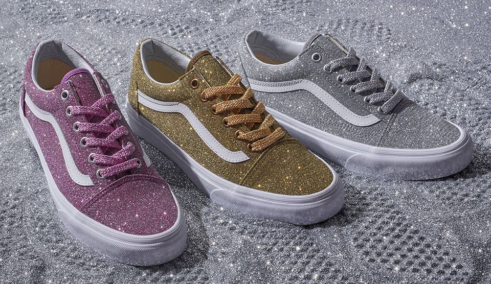 cb3a1b3ed6e7 Shine On! Shop new glitter styles and colors on vans.com