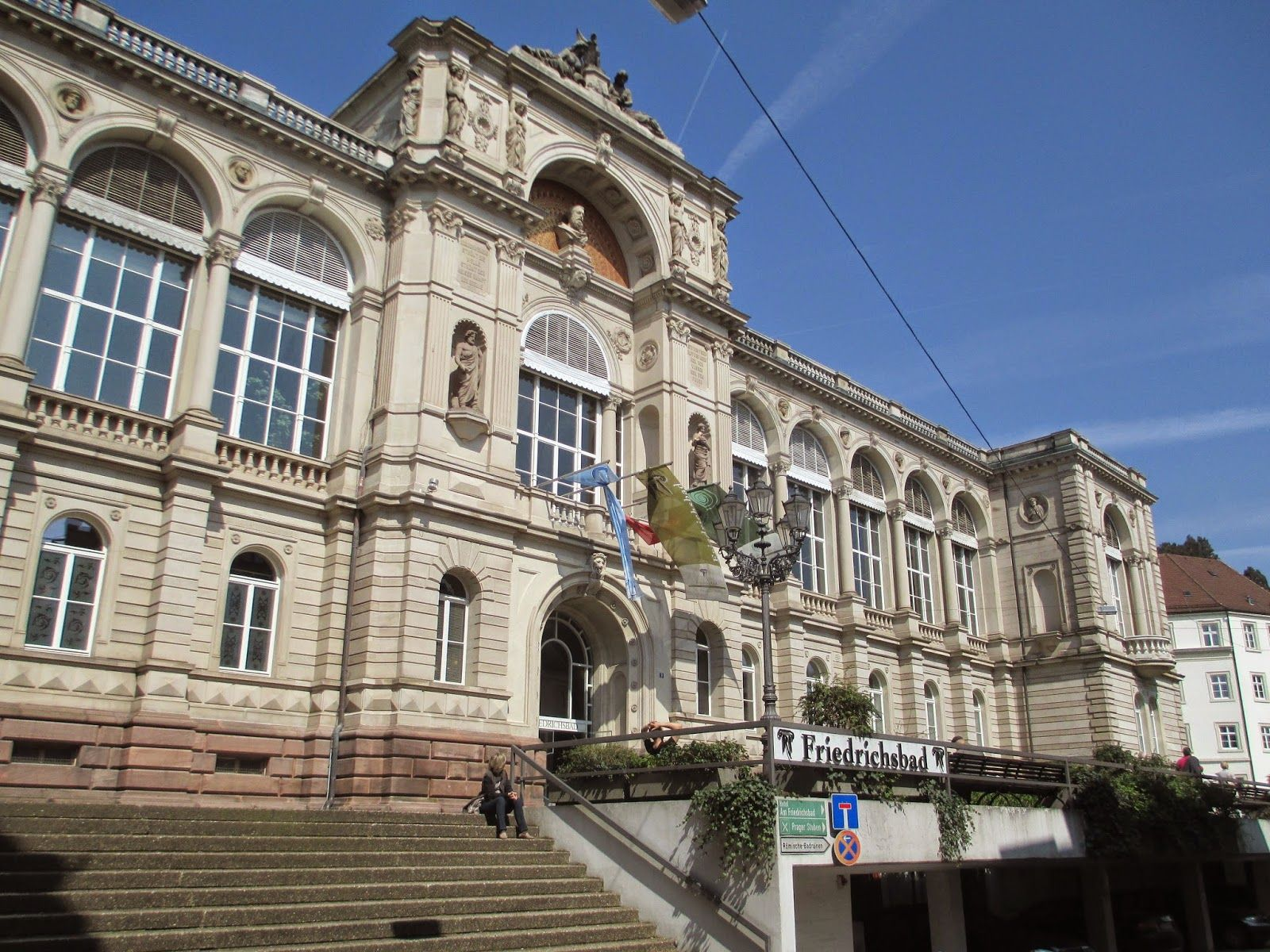 Strangeness and Charms: IMPRESSIONS: baden-baden is so nice, that you have to name it twice (bill clinton).