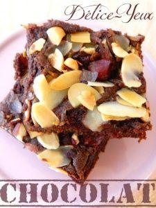 Brownie aux Amandes & Noisettes torréfiées
