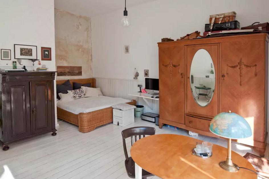 Eine Kreative Und Wunderschöne Schlafzimmerecke Lädt Zum Wohlfühlen Ein!  Stilvolle Möbel, Wie Das Korb. Schlafzimmer EinrichtenGemütliches ...