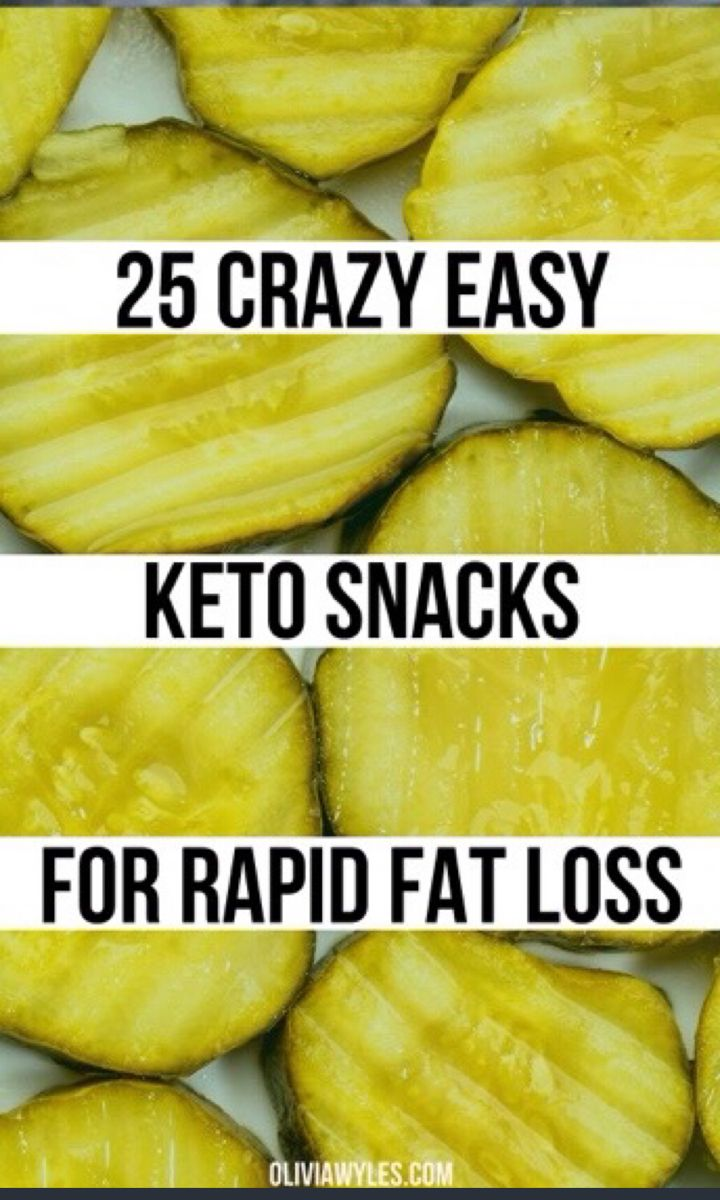 25 Quick & Easy 2-Minute Keto Snacks For Weight Lo