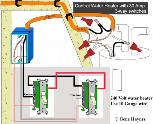 Water Heater 30 Amp Switch