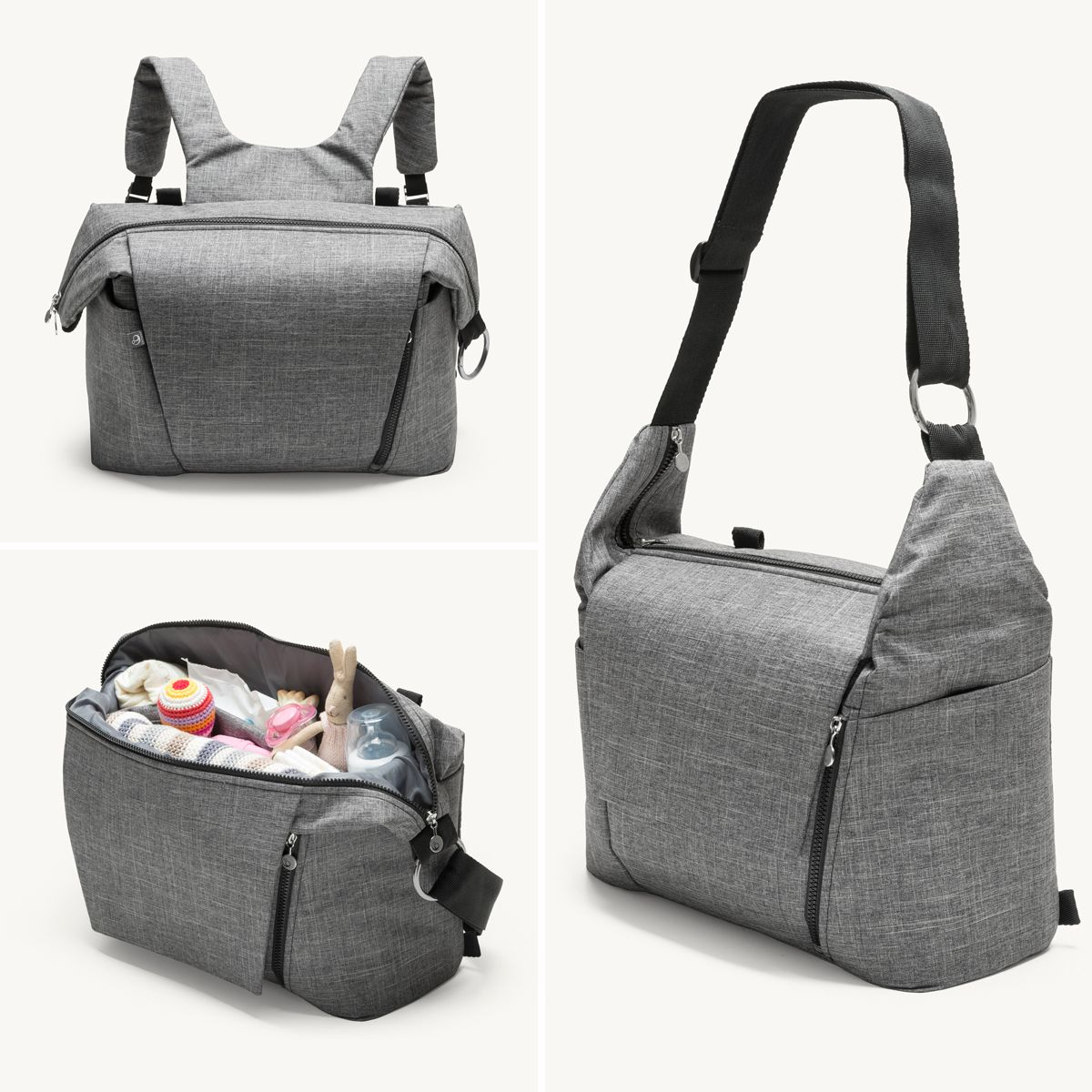 New From Stokke A Changing Bag That Doubles As A Backpack