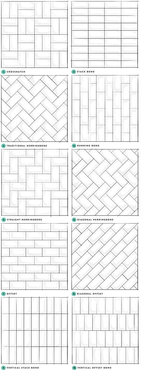 Subway Tile Designs Inspiration | A Beautiful Mess | Bloglovin'