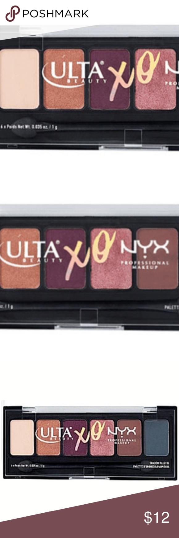 Ulta XO NYX Professional Makeup Eye Shadow Palette New