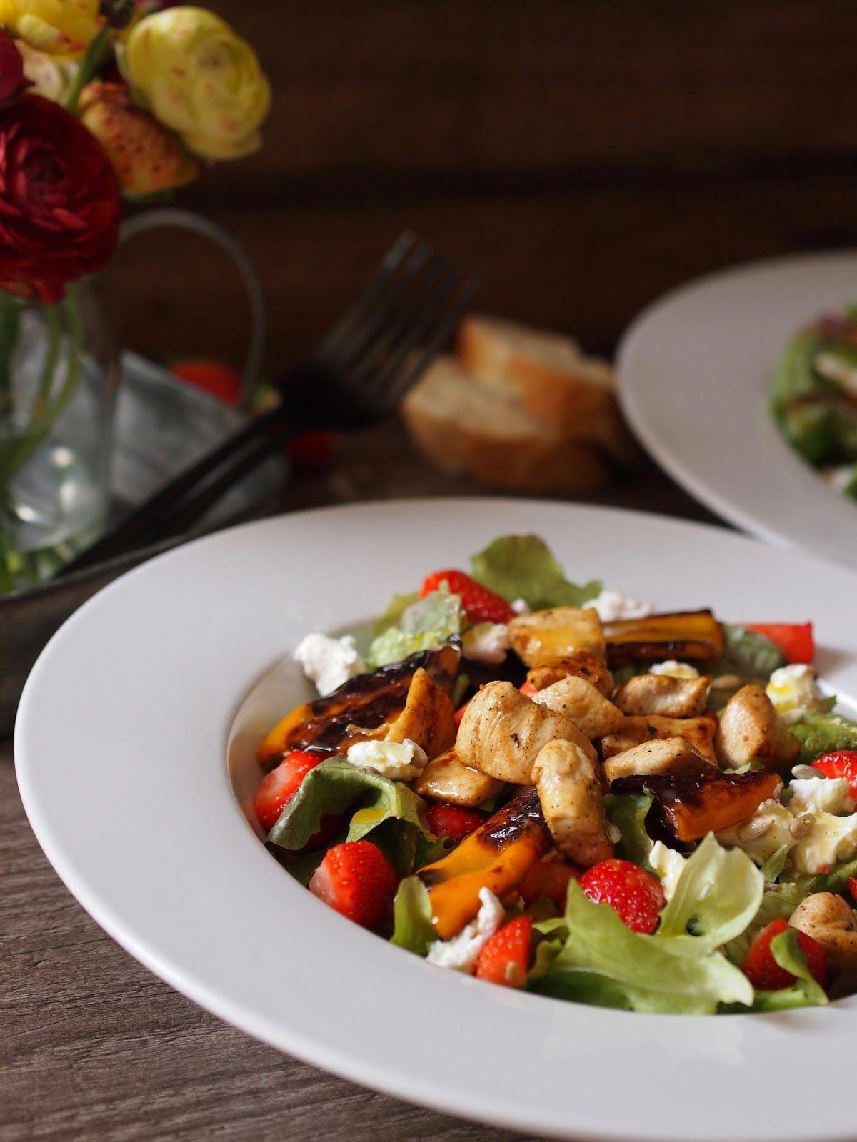 Rezept Recipe 30 Minuten Rezept Geiler Erdbeer Salat Mit Honig