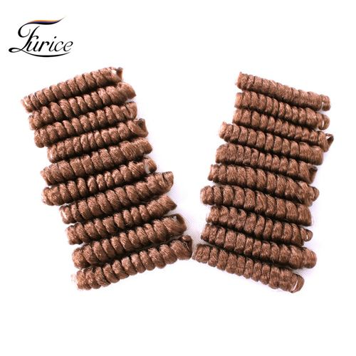 10inch Synthetic Small Bouncy Curls Braids Curls Crochet Hair Twist
