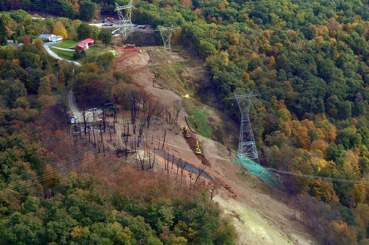 Repairs continue from the Revolution Pipeline Explosion