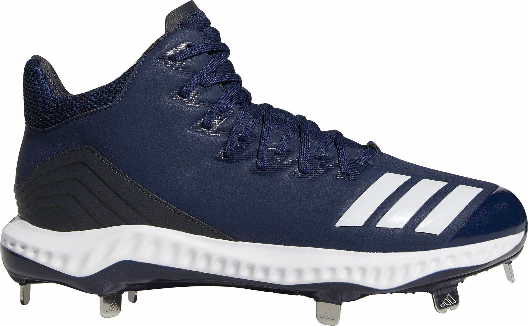 Photo of adidas Men's Icon Bounce Mid Metal Baseball Cleats