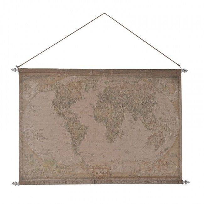 Fabric hanging world map diy organisation decor pinterest fabric hanging world map gumiabroncs Image collections