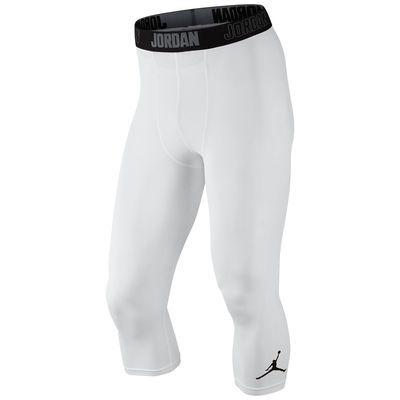 Men S Brand Jordan White Performance Compression Pants Best