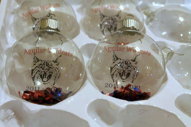 Glass Teacher Ornaments