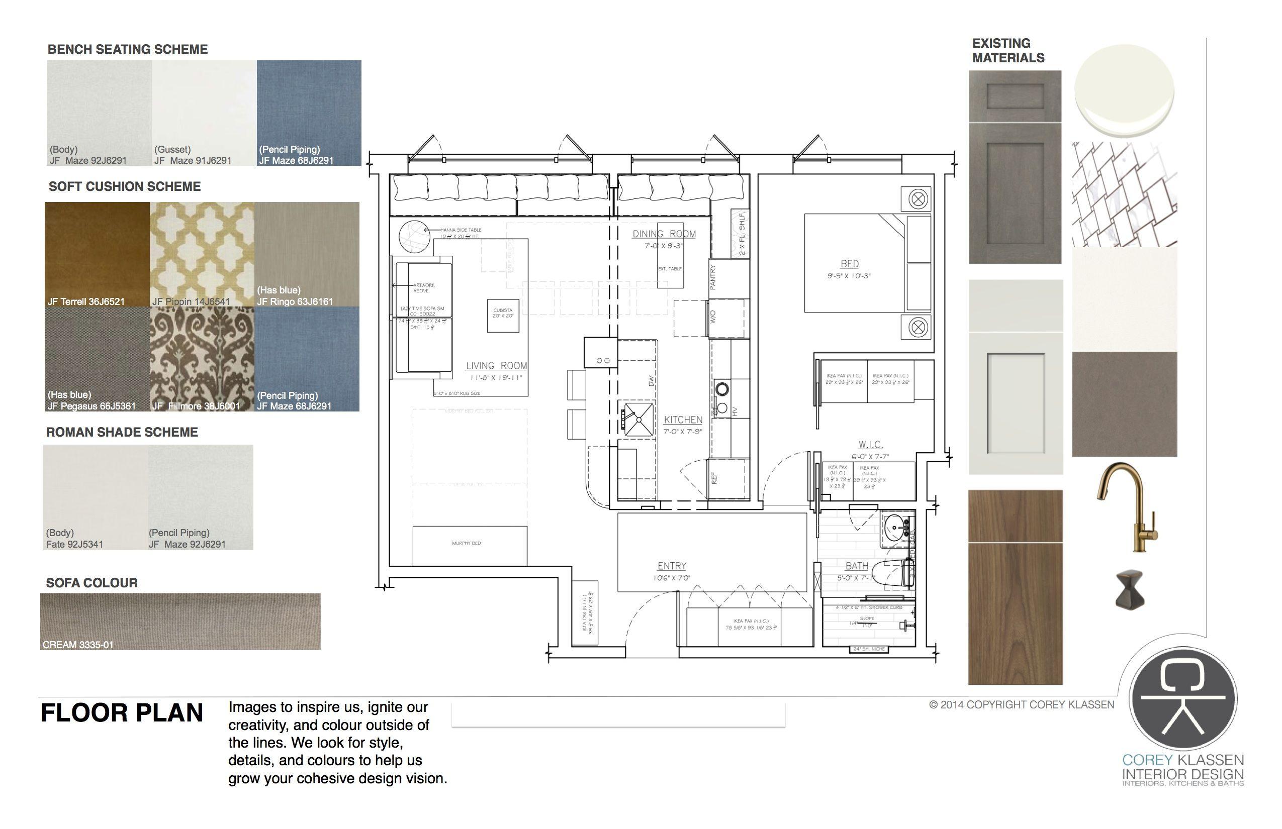Corey Klassen Interior Design Buenavista Project Concept