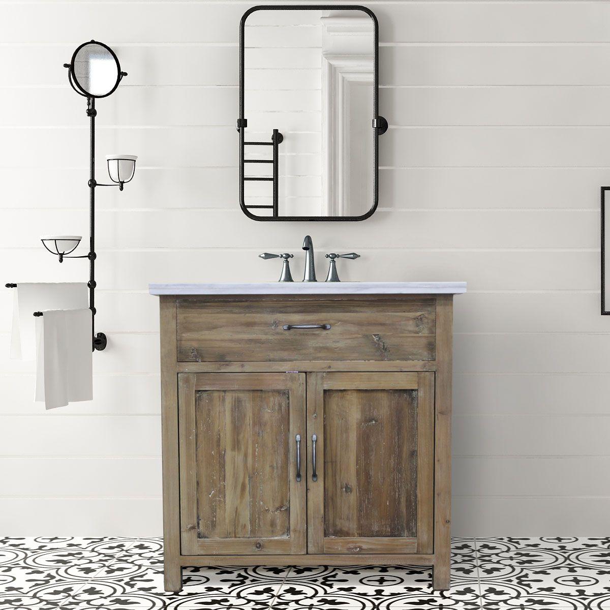 Best Wood Vanity In Modern Bath Antique Bathroom Vanity 400 x 300