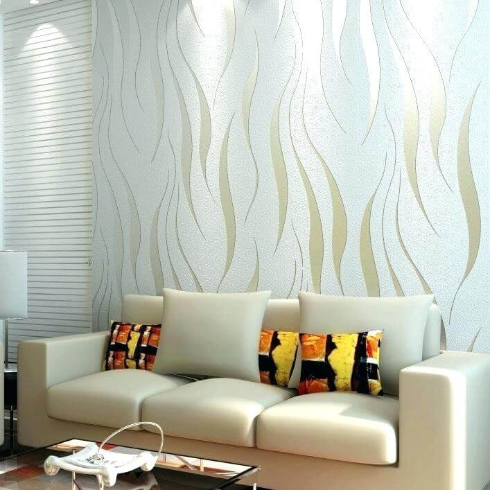Top 50 Contemporary Wallpaper Ideas With Images Home Decor Ideas Uk Silver Wallpaper Living Room Wallpaper Living Room Home Wallpaper