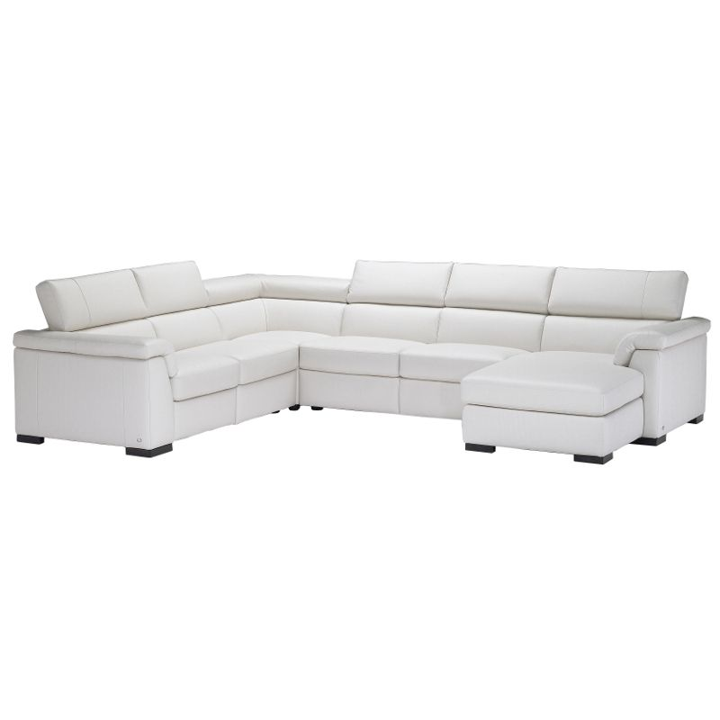 Natuzzi Editions Modena Leather Corner Sofa