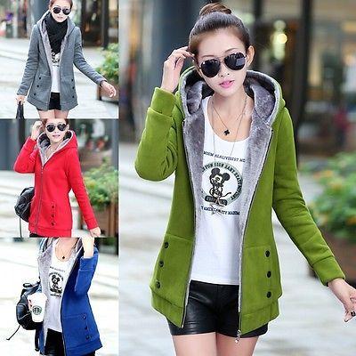 fashion Women Warm Winter Fleece Hooded Parka Coat Overcoat Long Jacket Outwear https://t.co/vGZVPTuiwF https://t.co/sekqP7e0G5