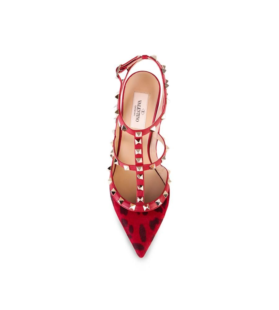 Valentino Rockstud Pony Sandals