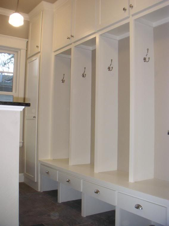 Mudroom Locker Systems From Cabinet Companies Building A Home Forum Gardenweb