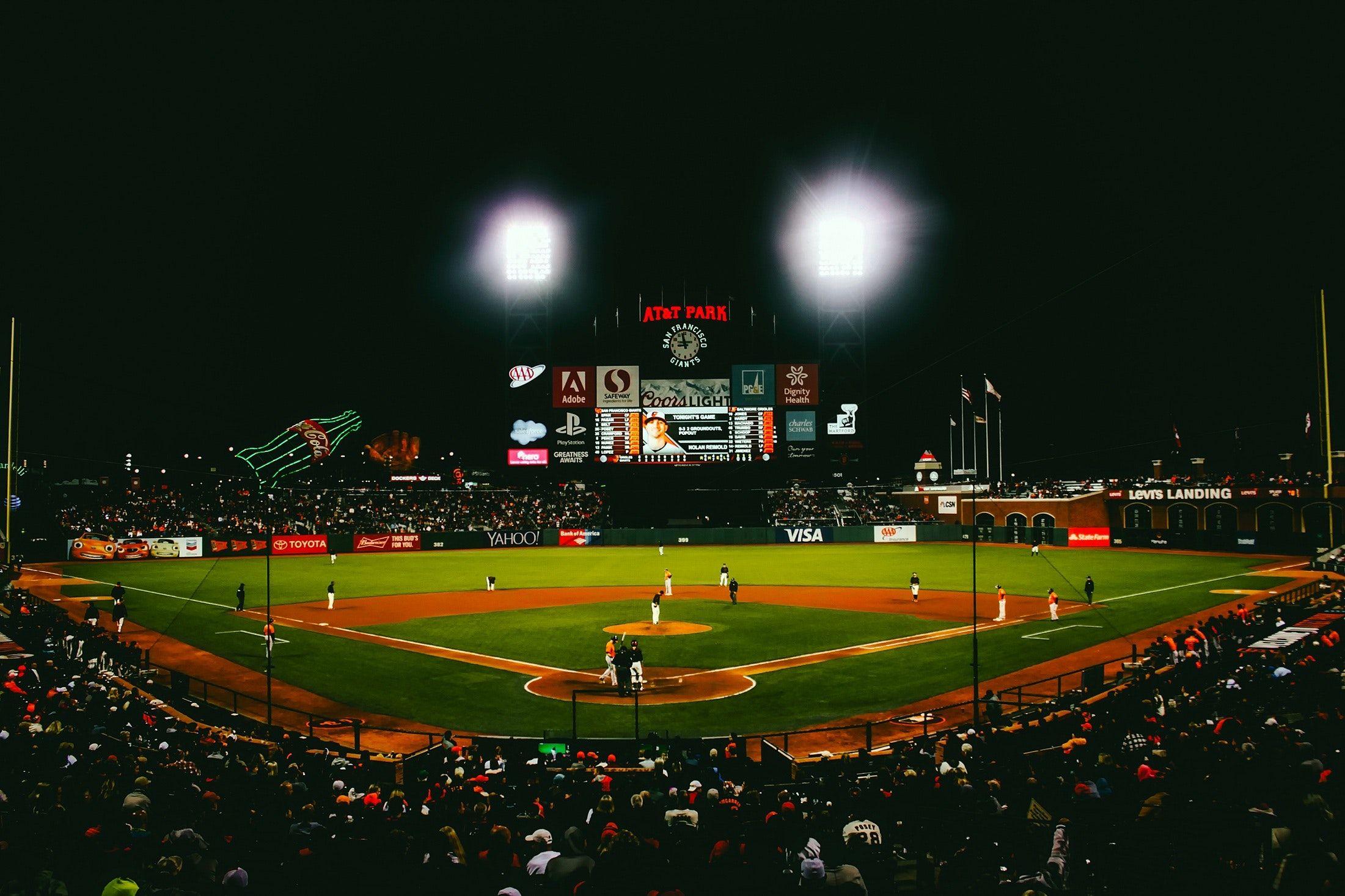 Led Lighting Baseball Drills Sports Baseball Field