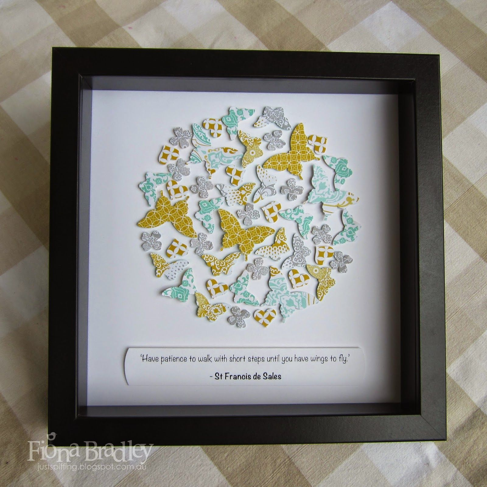 Just Spiffing: Just Spiffing Shadow Boxes | Box frame art, Paper crafts  cards, Shadow boxes