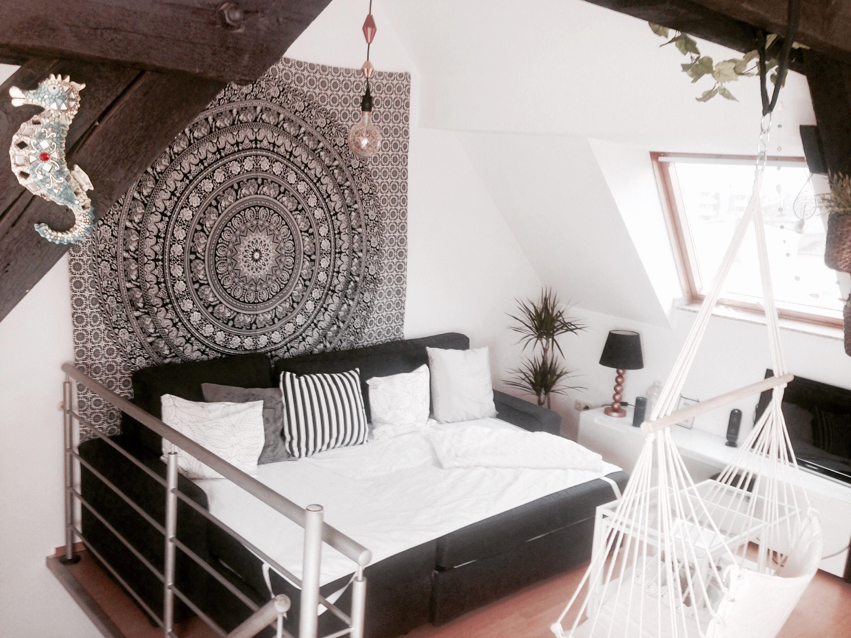Bohemian Room, Wohnzimmer, Altbau Dachboden