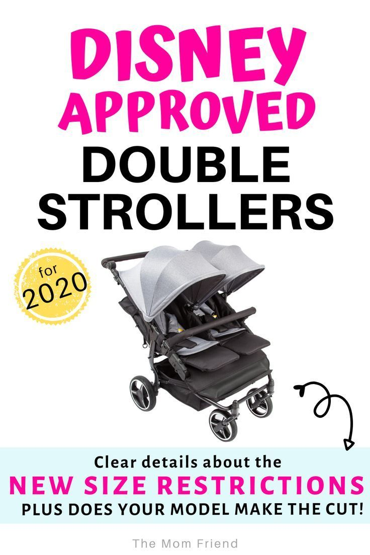 Disney Approved Double Strollers Does Yours Meet the New