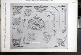 """Catalogo illustrato delle decorazioni in """"stucc..."""