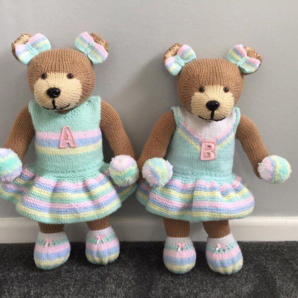 Bear (Knit a Teddy) Knitting pattern by Knitables in 2020 ...