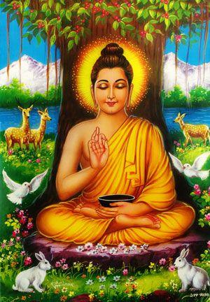 仏陀ポスター(光沢) | ガネーシャ神と開運グッズ | 仏教芸術, 仏教, 神