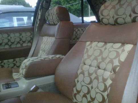 Image Result For Louis Vuitton Car Seat Covers