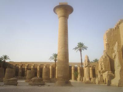 Columna De Taharqa Buscar Con Google Arquitectura Antigua Egipto Templo