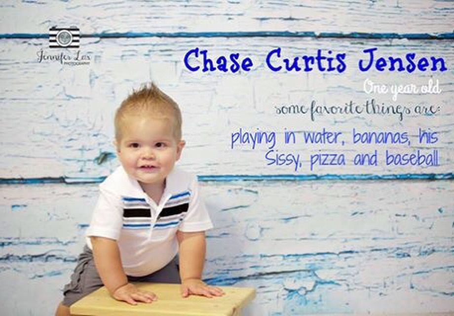 Oh what fun! Chase is ONE! Jennifer Lux Photography