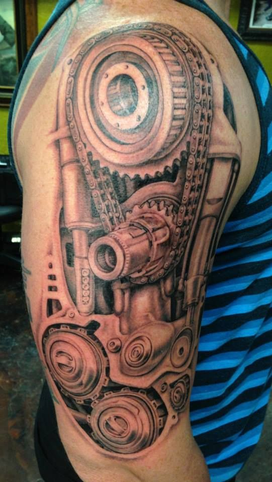 Brett J Barr / Built 4 Speed Tattoo - Orlando, FL | Inq ...