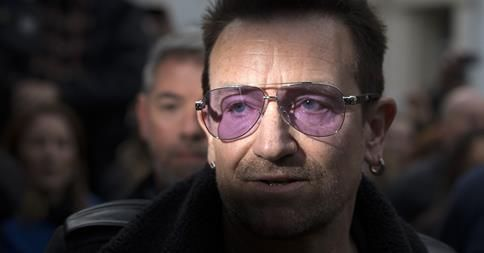 Mustread New Piece From Bono On Ebola Bono Coldplay Chris Record Store