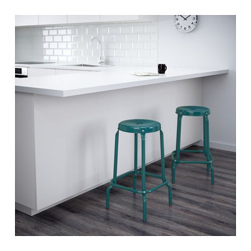 RÅSKOG Bar stool - IKEA seat height 63cm, works with 90cm height of counter. - Råskog Bar Stool, Stools And Kitchens