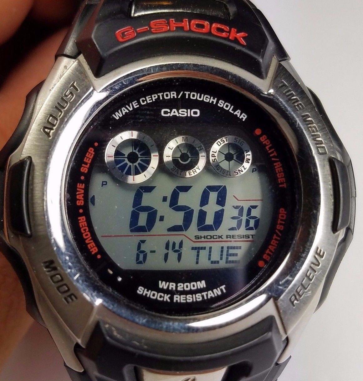 casio g shock gw500a 2688 tough solar wave ceptor men s watch rh pinterest com