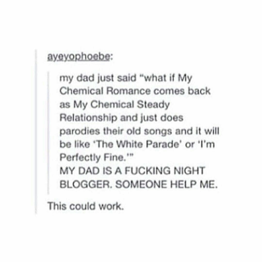 Pin by eszes nomi on bands pinterest romance emo and emo bands emo bands my chemical romance music humor killjoys text posts fangirl jokes musicians music hexwebz Image collections