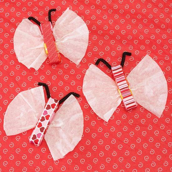 Butterflies with Candy